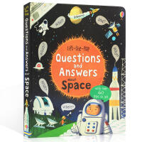 英文原版 Lift-the-flap Questions and Answers about Space 认知科普科学