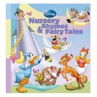 英文原版儿童书 Disney Nursery Rhymes & Fairy Tales [With 200 Stickers] 迪斯尼童谣和神话故事