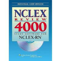 【预订】NCLEX Review 4000: Study Software for NCLEX-RN