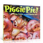 英文原版书绘本 Piggie Pie! 汪培�E培养孩子的英文耳朵5阶段 名家图画书 吴敏兰同场加映4-8岁学习启蒙英语