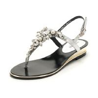 星期六(ST&SAT)夏季羊皮革舒适平底罗马凉鞋SS82115464