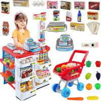玩具购物手推车收银机套装 儿童过家家厨房女孩宝宝3-4-5-6岁超市