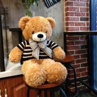 毛绒玩具熊泰迪熊1.6米毛绒玩具熊大号抱抱熊公仔娃娃可爱睡觉抱女孩送女友
