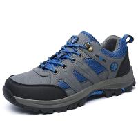 CUM 潮牌登山鞋男运动鞋网面透气防滑中年爸爸鞋耐磨徒步户外鞋越野旅游鞋