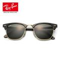 RayBan雷朋太阳眼镜男女款半框个性复古潮流优雅太阳镜RB3016墨镜 W0365