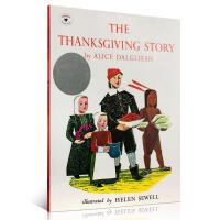 英文原版进口童书绘本 The Thanksgiving Story 感恩节的故事