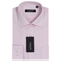YOUNGOR雅戈尔粉色免烫长袖衬衫VP11812-33