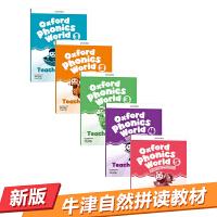 牛津自然拼读教材教师书5册 英文原版 Oxford Phonics World Teacher's Pack  Level 1-5