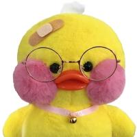 韩国毛绒玩具女孩儿童生日礼物ins鸭子公仔娃娃
