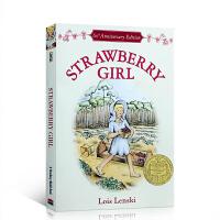 英文原版小说 草莓女孩 Strawberry Girl 纽伯瑞金奖 Lois Lenski 儿童文学书 课外读物 进口