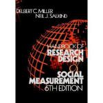 【预订】Handbook of Research Design and Social Measurement