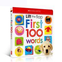 英文原版 纸板翻翻机关启蒙词汇典scholastic Early Learners: Lift The Flap Fir
