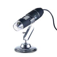 高倍放大镜1000倍便携式 高清学生1000倍USB高清高倍电子显微镜 HV-S4-3 军绿色