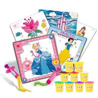 迪士尼(Disney) 橡皮泥玩具公主创意彩泥绘画套装 DS-1614 当当自营