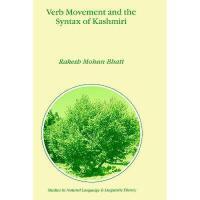 【预订】Verb Movement and the Syntax of Kashmiri Y9780792360339