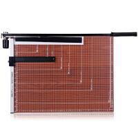 53x41cm切纸机 得力8001手动木质裁纸刀 B3大号照片