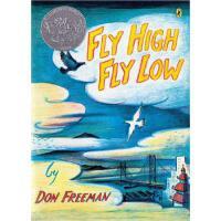 Fly High, Fly Low 飞高飞低 凯迪克奖绘本