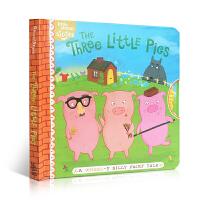 英文原版 The Three Little Pigs: A Wheel-y Silly Fairy Tale三只小猪