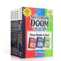 进口英文原版正版童书 the Notebook of Doom 1-13 个故事毁灭笔记/末日笔记本Troy Cumm