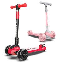 儿童滑板车3轮小孩2-8-6-12岁宝宝四轮女孩溜溜车男孩滑滑车