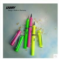 德国凌美钢笔 Lamy sarafi 凌美狩猎者玫红 柠檬黄 苹果绿EF尖钢笔