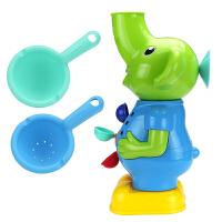 20190702021019087宝宝洗澡玩具套装大黄鸭子水车转转乐儿童戏水玩具水车女孩男孩