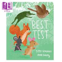 【中商原版】Anna Doherty:Best Test 合适的是谁?低幼亲子故事绘本艺术绘本友谊 平装 英文原版 3-