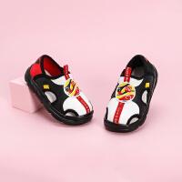 戴维贝拉童鞋男童凉鞋2021夏季新款儿童休闲学步鞋小童洋气鞋子