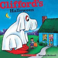 英文原版Clifford's Halloween [平装] [2011] Bridwell, Norman大红狗的万圣节