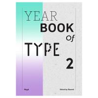 【预订】Yearbook of Type II?字体年鉴2 平面字体设计书