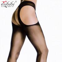 ESibibi 情趣丝袜欧美透视超薄大码四面开档丝袜连裤袜W108