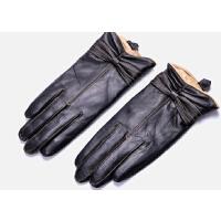 真皮手套女士羊皮手套 冬季防寒真皮 骑车皮手套 加绒加厚保暖 女