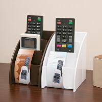 电视遥控器收纳盒手机收纳盒日本塑料桌面收纳盒