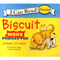 Biscuit More Phonics Fun 小饼干自然拼读法(I Can Read,My First Level