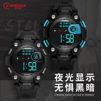 儿童电子表男孩青少年夜光跑步运动中小学生儿童手表