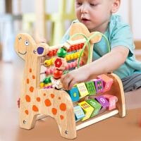儿童绕珠玩具益智女孩宝宝大号串珠男孩智力积木