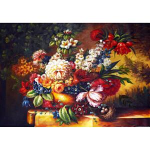 Y049郑美明古典花卉