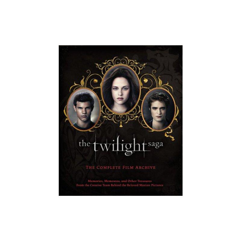 暮光之城系列:完整的电影资料馆 英文原版 The Twilight Saga: The Complete Film Archive: Memories, Mementos 暮光之城 原版进口 放心订购