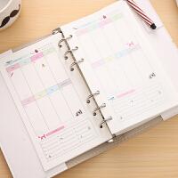 小清新手帐手绘日记本活页手账本创意笔记本记事本