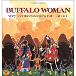 【正版直发】Buffalo Woman Paul Goble 9780689711091 Simon & Schust