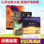 摆渡人+偷影子的人+ 追风筝的人 套装共3册 现象级畅销书  心灵安抚小说