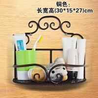 卫生间厕所家居日用品收纳层架铁艺壁挂洗手间储物浴室置物架