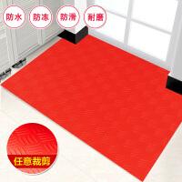 环保PVC防滑垫塑料门口地垫浴室厨房楼梯车间卧室地板皮脚垫