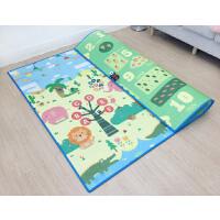 宝宝爬行垫加厚无味婴儿童客厅家用爬爬垫毯小孩泡沫地垫折叠大号 1.8米*1.2米*厚1cm 【折叠发货 便携收纳