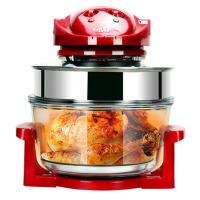 家用大容量多功能无油烟电炸锅烤全鸡锅油炸锅空气炸锅烘烤薯条机