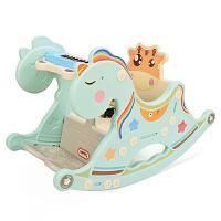 两用木马儿童摇马1-2周岁礼物 婴儿宝宝摇椅带音乐厚塑料