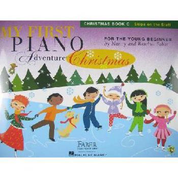 My First Piano Adventure Christmas, Book C 菲伯尔我的*次钢琴之旅:圣诞歌曲C