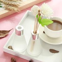 卧室内香薰房间香水持久玫瑰香薰瓶干花放厕所熏香空气清新剂桂花 乳白色