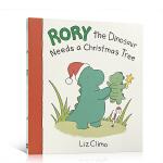 顺丰发货 Rory the Dinosaur Needs 罗力小恐龙系列:神秘的圣诞礼物 儿童英文原版绘本 3-4-5