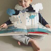 我的情绪小怪兽 乐乐趣绘本立体书入园准备早教绘本故事书性格培养管理书2-3-6岁亲子阅读书籍3D立体翻翻书幼儿园推荐畅
